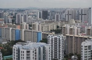 Rental volume shrank for both the private and HDB resale markets in July