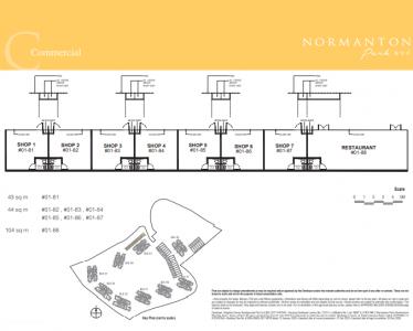 Normanton Park Floor Plan Type Commercial